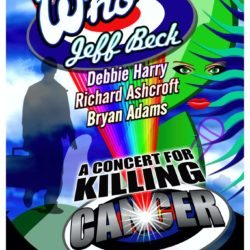 The Who Killing Cancer 2011 – Mark Burton Design